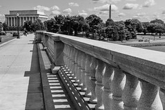 Washington (Shane Jones) Tags: lincolnmemorial washingtonmonument washington usa panasonic lumixlx100 bridge road potomacriver