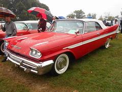 1958 DeSoto Firedome Convertible (splattergraphics) Tags: 1958 desoto firedome convertible forwardlook mopar carshow aacaeasterndivisionfallmeet antiqueautomobileclubofamerica hersheypa