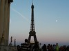 Paris _ Eiffel Tower (giulia.morenghi) Tags: tramonto sunset eiffeltower torreeiffel eiffel tower paris parigi france francia