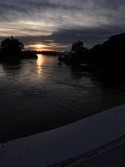 Sunset over the Mekong 2017-8-12 9 (SierraSunrise) Tags: mekong mekongriver nongkhai phonphisai reflections rivers skies sky sunset thailand water
