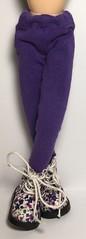 New Shoes...Purple Flower Doc Martens...