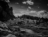 Rocks and Clouds (Kent Copeland) Tags: wilderness reflections water clouds absaroka beartooth cody wyoming unitedstates