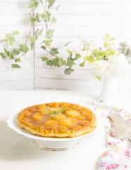 Tarta tatin de melocotones (Frabisa) Tags: tarta melocoton delicioso postre dulce casero cake peach yummy dessert sweet home