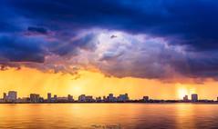 Hanoi, Vietnam (tuanduongtt8018) Tags: duongnghiemphotography hanoi ray sunlight sunset light landscape highangleview clouds sonya7 travel traveldestination travelandtourism rain