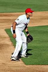 STANDING TALL (MIKECNY) Tags: baseball nypennleague tricityvalleycats astros thirdbaseman minorleague