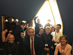 More Longniddry pupils and staff at Parliament