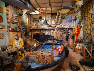 Workplace of an old fisherman