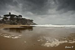 la fosca temporal (teve61) Tags: lafosca palamos paisatge landscape tormenta storm costabrava playa beach