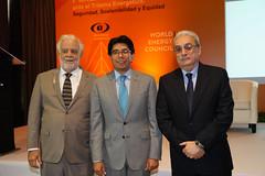 Víctor Carlos Urrutia, Marcelino Madrigal, Roberto Meana