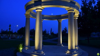 Rotunda z księżycem