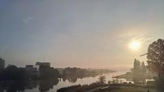 leeco lemax2 phonecamera sunrise mist bridge burgum... (Photo: Dimitri W on Flickr)