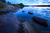 Blue moment at Lake Tuusulanjärvi (*Bigfield*) Tags: longexposure neutraldensityfilter nd4 rocks lake wideangle bluemoment