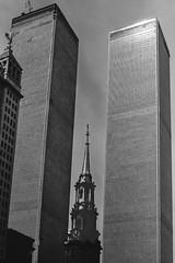 Nine Eleven (Me in ME) Tags: newyork manhattan twintowers worldtradecenter 911 nineeleven stpaulschapel
