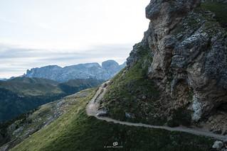 Sella Joch - Plattkofel - Friedrich August Weg / passo sella - sasso piatto