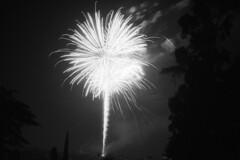 July 4th Fireworks. (lammyracer) Tags: fireworks riverside independenceday canon ae1 film 35mm america