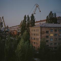 Kyiv, Ukraine (J.K.Stevens) Tags: format film 120mm 120 6x6 kodakportra400 kodak mamiya mamiyac220 mediumformat kyiv ukraine outdoor light lightmeter landscape dusk tlr twinlensreflex