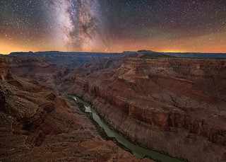 Nankoweap Overlook, East Rim of the Grand Canyon