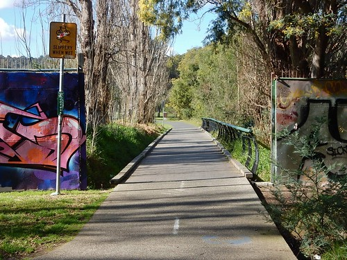 Path Along the Yarra