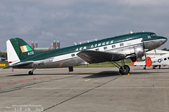 ZS-NTE Springbok Classic Air painted in Aer Lingus retro livery Douglas DC-3  (ZQC - EDRY) (Sierra Aviation Photography) Tags: sierraaviationphotography sierraaviation canon 5d 5dmkiv eos travel holiday sun nature scenic impression speyer airliner classic classics germany oldtimer prop