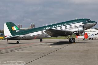 ZS-NTE Springbok Classic Air painted in Aer Lingus retro livery Douglas DC-3  (ZQC - EDRY)