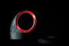 DSCF4378 (bc-schulte) Tags: xt20 fujifilm fujinon 1650mm polaroid nahlinse 10 schatten licht led weiss rot stahl rohr reflektion macro makro