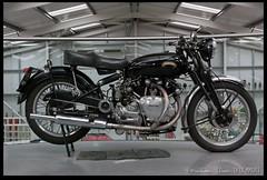 Vincent (zweiblumen) Tags: vincent blackshadow classic motorcycle vintage british isleofmanmotormuseum jurby jourbee isleofman ellanvannin canoneos50d canonef35mmf2 canonspeedlite430exii polariser zweiblumen