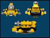 Orbital Tugboat (Karf Oohlu) Tags: lego moc microscale microspacetopia blacktron tugboat tractorbeam scifi