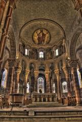 Abbatiale Saint-Austremoine d'Issoire (Frédéric Pagès) Tags: édifice abbatiale saintaustremoine issoire puydedôme auvergne église peintures religieux