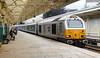 67029 1W96 1716 Cardiff - Holyhead at Newport 18.07.2017 (The Cwmbran Creature.) Tags: british rail class train trains railway 67 dbs dbc arriva wales atw gerald wag premier service