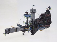 The Ionsaí (W. Navarre) Tags: lego shiptember 2017 photo ninjago ship castle space pirate