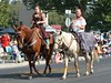 Ladies on Horsesback (wildwest photo) Tags: pendletonroundup westwardho parade horse pendletonoregon rodeo cowboy cowgirl wagon buggy september152017 rodeoqueen rodeoprincess queen royalty mules usa roper roping girl girls