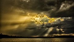 Brewing Up (Bob's Digital Eye) Tags: 2017 bobsdigitaleye canon clouds efs24mmf28stm flicker flickr glow h2o laquintaessenza lakescape sky skyscape storm stormclouds t3i water