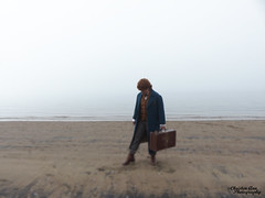 P1450109 (Christen Ann Photography) Tags: cosplay newt newtscamander fantasticbeasts harrypotter potterhead photography portrait beach fog weather 2017 photoshoot auckland newzealand cosplayphotoshoot mist potter magical