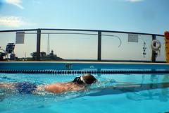 Babs's swim (Bex.Walton) Tags: travel usa newengland ma massachusetts gloucester capeann easternpointyachtclub pool swimmingpool oceanpool