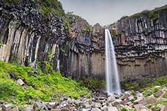 Svartifoss, Iceland (gatorlink) Tags: canon6d landscape nature iceland waterfall svartifoss basalt columns gnd lee filter nd neutral density graduated