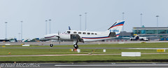 G-USAR Private Cessna 441 Conquest II (Niall McCormick) Tags: dublin airport eidw aircraft airliner dub gusar private cessna 441 conquest ii