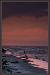 She Broods-2.jpg (NetAgra) Tags: camping storm border sandpointstateforest water lake weather waves summer greatlakes frame rain clouds night nightfall park sunset driftwood shore lakemichigan