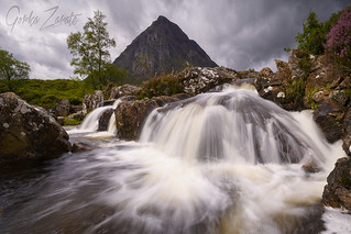 Buachaille Etive Mor in Glencoe in the highlands of Scotland