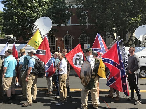 From flickr.com: Charlottesville .Unite the Right. Rally {MID-153144}