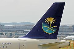 HZ-ASD EDDF 15-06-2017 (Burmarrad (Mark) Camenzuli) Tags: airline saudi arabian airlines aircraft airbus a320214 registration hzasd cn 4364