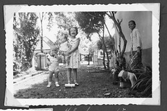 Album 2. Page 43. (dagboshoots) Tags: dutch east indies dutcheastindies holland colonial children servant suburbs 1930s 30s bw nostalgia family toys baby photo photography dagboshoots dagbo