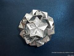 Starlight kusudama by Vladimir Frolov (irina_chisa) Tags: kusudama origami