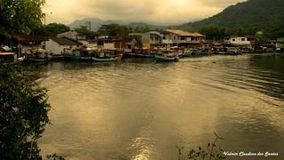 Fishing boats at the dusk - Barcos de pesca ao entardecer