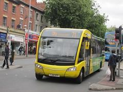 NCT 361 YJ12GYV Mansfield Rd, Nottingham on 71 (1280x960) (dearingbuspix) Tags: 361 7071 nottinghamcitytransport yellowline 7071yellowline yellowline7071 yj12gyv
