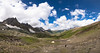 View from Nichnai pass (FROZEN ! !) Tags: panorama snow kashmir meadow valley himalaya trekking hiking