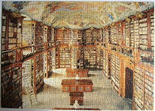 Bibliothek des Augustiner-Chorherrenstifts in St. Florian / The Library