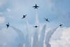 Thunderbirds (jed52400) Tags: thunderbirds thunderoverdoverairshow2017 jets planes clouds maneuver military dover delaware