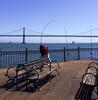 Pier 7 (kaphentso) Tags: sanfrancisco california karlthefog pier7 fishing baybridge oaklandbaybridge