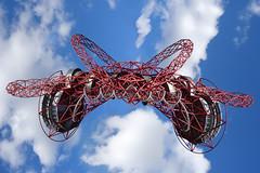 ArcelorMittal Orbit (Dom Walton) Tags: arcelormittal orbit redaction mirror queen elizabeth olympic park slide domwalton