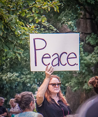 2017.08.13 Charlottesville Candlelight Vigil, Washington, DC USA 8063